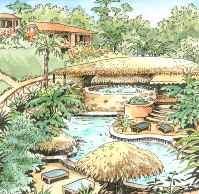 Costa rica h tel h tel el jardin del eden for El jardin del eden montornes